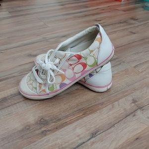 Coach shoes size 7.5
